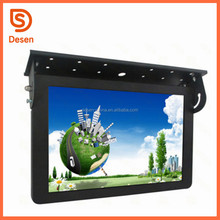 2017 Wireless 3G Wifi Network TFT LCD Bus Ad Player, Bus monitor AD Video signage player for car