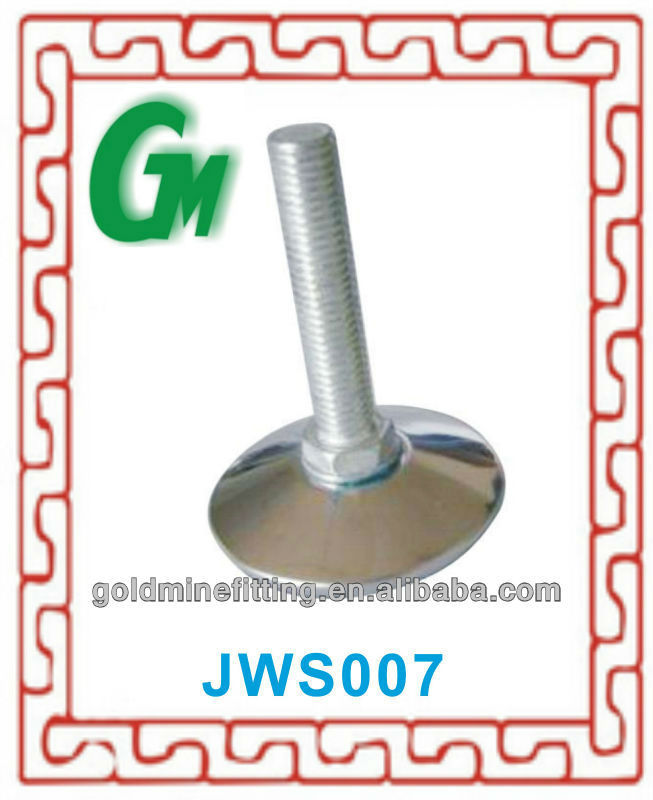 JWS007 M10*56MM furniture glides for carpet