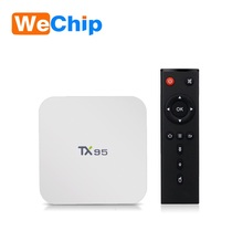 Digital tv converter box TX95 S905X tv box TX95 wholesale android smart tv set top box