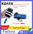New Product 2 in 1 Creative OTG USB 3.0 Flash Drive 16GB For Smartphone