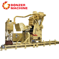 China automatic tumble belt type QR3220 shot blasting cleaning machine