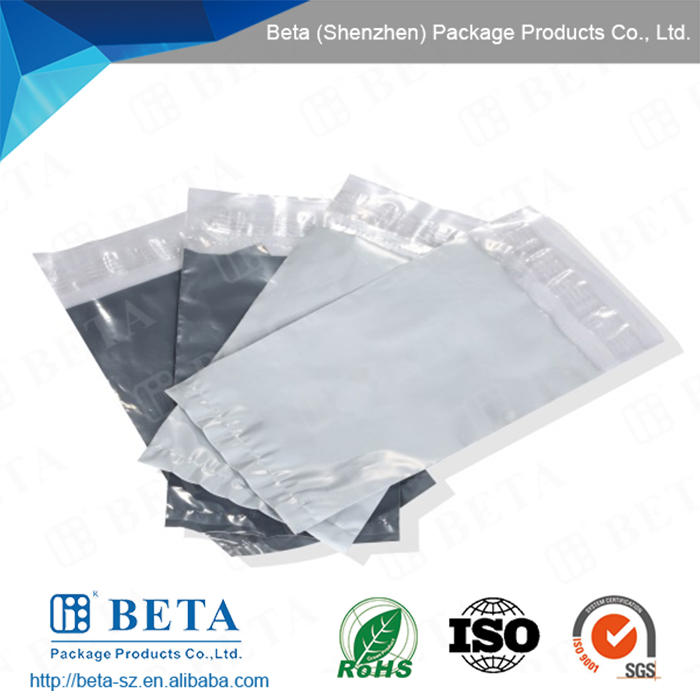 clear mailing bag, clear courier bag, clear poly mailer