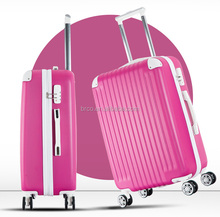 ABS material suitcase type 28 inch urban trolley luggage with spinner wheels