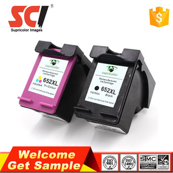 Supricolor New hot refill cartridge replacement for hp 652 for HP 1115, 1118, 2135, 2136 printer