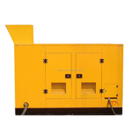 10-350kW Biomass/syngas/wood chips/straw gas generator Sound proof low noise silent generator