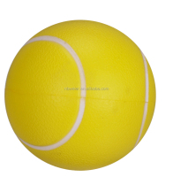 2014 hot sales promotional PU stress tennis ball/high quality foam stress tennis ball/PU toy stress ball promotional gift