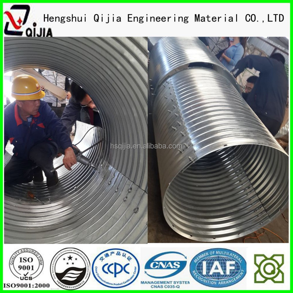 corrugated steel box culvert