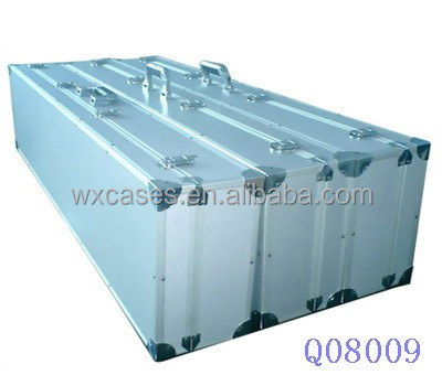 high quality aluminum rifle gun case with foam inside from China factory