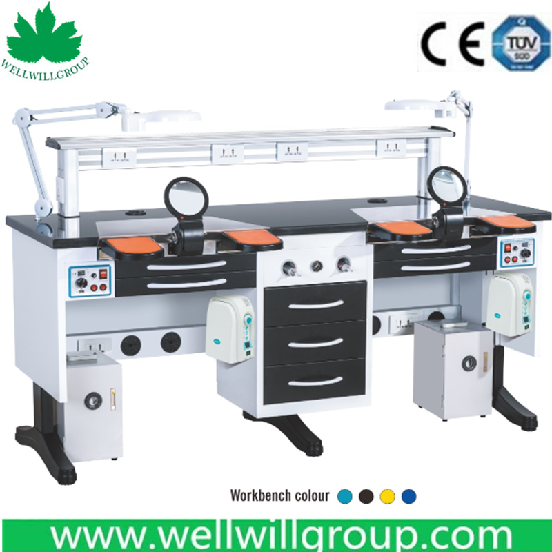 WWG-DS180 Dental Lab Work Bench Factory Price
