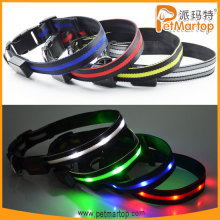 china unique products 2016 TZ-PET6100 dog collar nylon dog collars neon dog collar