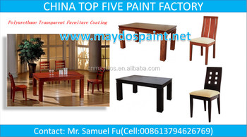 CHINA TOP FIVE WOOD PAINT SUPPLIER-MAYDOS Transparent Colors Wood Varnish Lacquer