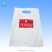 Patch handle bag&Die cut handle bag with reinforced handle