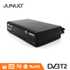 JUNUO DVB-T2 tv box mpeg4 h264 usb mini scart set top box digital hd recorder dvb t2