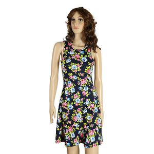 New Selling Special Design Colorful Flower Cute Party Dress