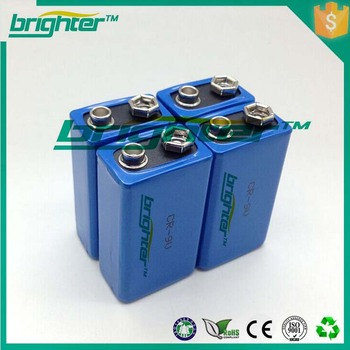 Hot sale 9v lithium batteries made in china wholesale