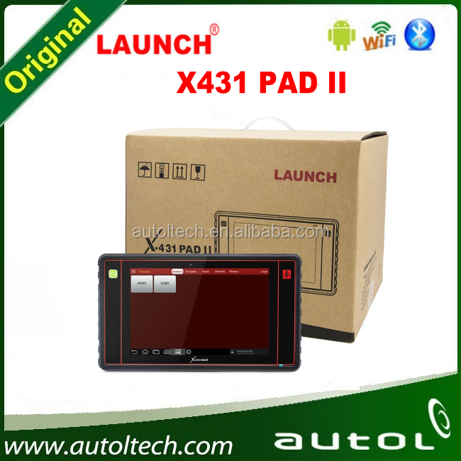 LAUNCH X431 PAD II 2016 100% Original Launch X431 PAD 2 WiFi Update By Offical Website X431 Pad 2 diagnostic Tool