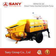 SANY HBT6013C-5D Advanced Hydraulic System for Diesel Trailer-Mounted Concrete Pump of Putzmeister Stationary Concrete Pump
