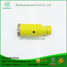 Wanlong Best Performance Diamond Drill Bit for Stone Drilling, Granite Drill Bit Set