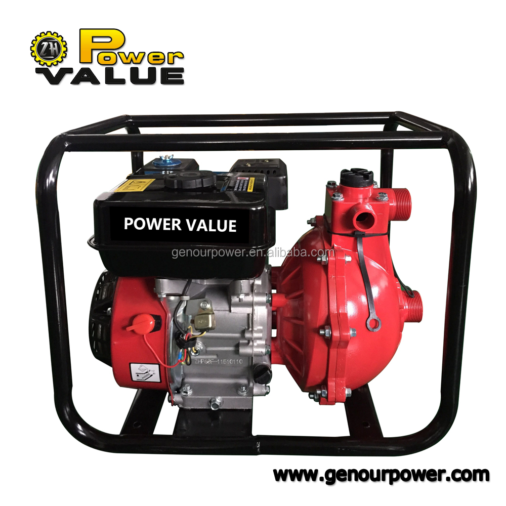 Genour Power 2 inch electric high pressure best water pump motor price gasoline engine ZH20WP