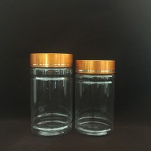 light weight fish oil bottle, VE pill Packaging Plastic Bottle, Clear Plastic Health Supplement container