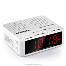 Stereo bluetooth battery radio speaker with Alarm Functions Works With Smartphones , Tablets,MP3 Players etc.