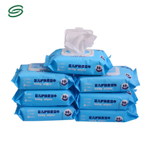 factory dircet sale lead-free security baby wipe tissue packaging bag