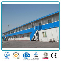 factory prefabricated steel frame house for sale