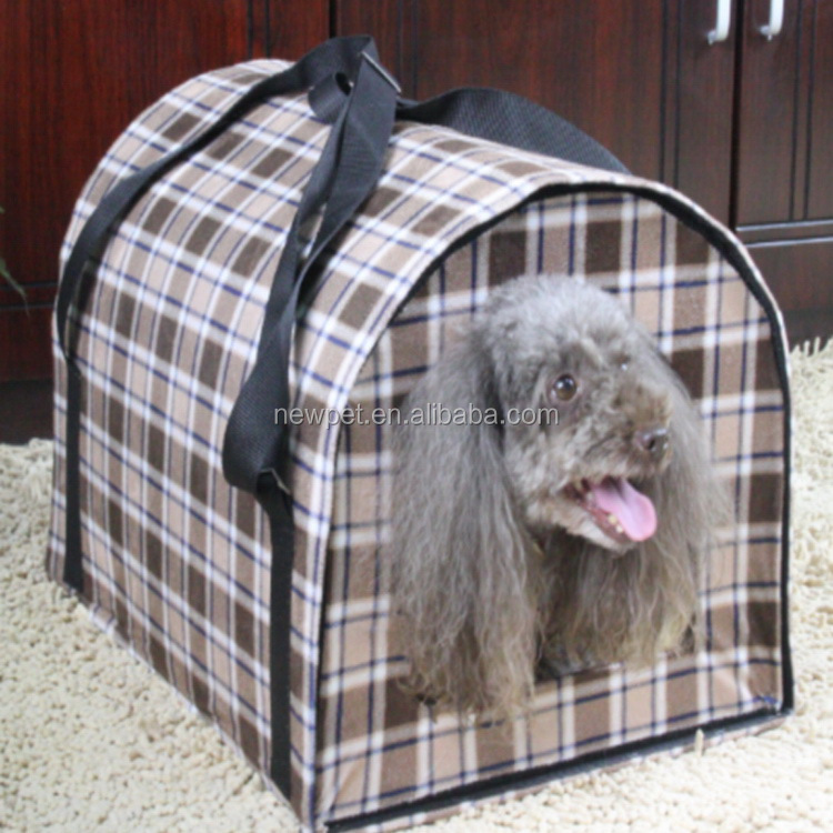 China goods fashionable best xl large big check pet house high quality plastic dog house for sale
