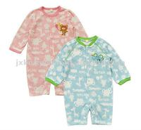 wholesale nice full printing jumpsuit cotton baby long sleeve romper clothing
