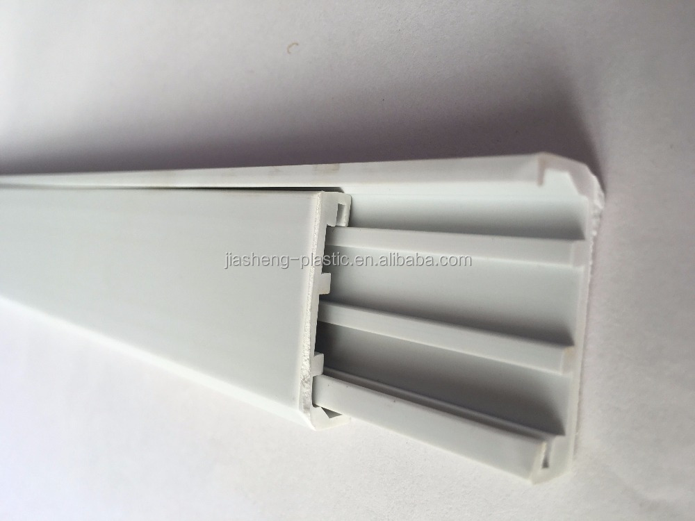 Extrusion customized hard Plastic Profiles aluminum frame accessory pvc profiles