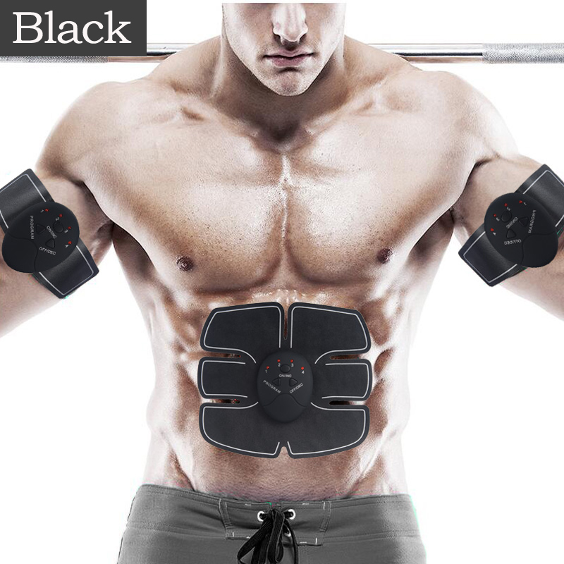 Electric muscle stimulator with sixpad / ABS FIT body massager machine