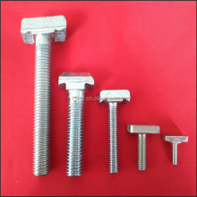 Wholesale hardware carbon steel T bolt with nut and washer