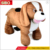 High quality kid riding horse toy plush horse ride-on happy animal rider