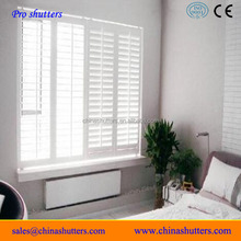 Fashion bedroom plantation shutter for window