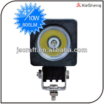 Warranty 2Year Super Bright IP67 Flood Spot Beam CREE 12v 24v 10w Led Work Light for Truck