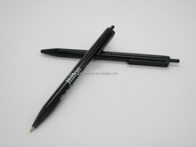 Plastic stick ballpoint pen for hotels