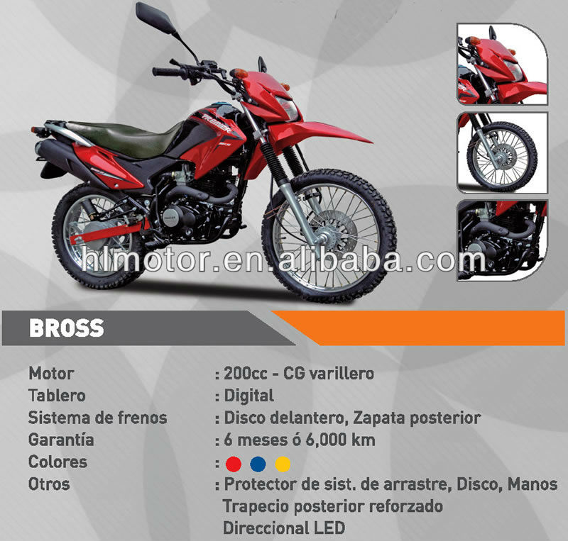 UPM broz brosS broza Fuera De Carretera Motocicleta 200/250cc air-cooled/water-cooled Off-road/Dirt Bike