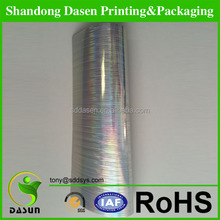 holographic metallized laser paper