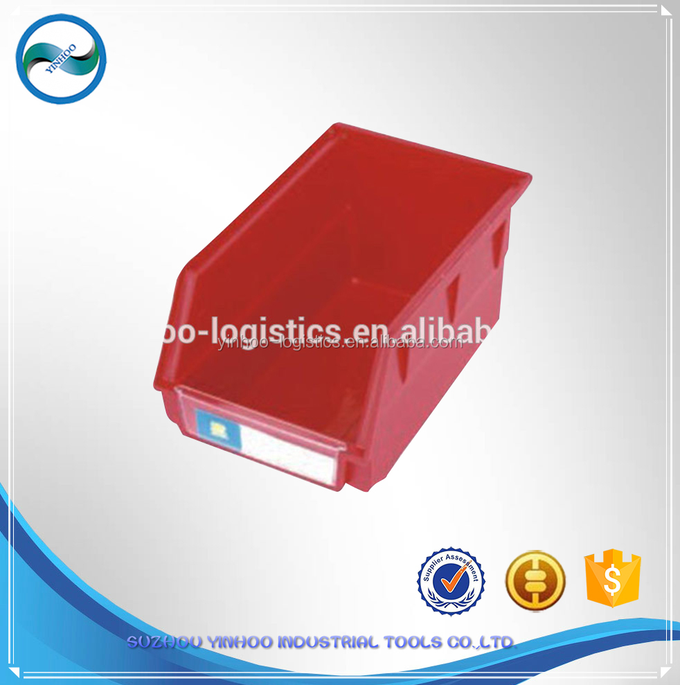Back Hanging Storage Plastic Bin in PP plastic industrial workshop