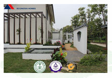 2-bedrooms prefab homes certified by SGS and it is import china products