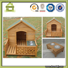 SDD10 Wooden apex dog kennel