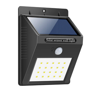 China Manufacturer Outdoor Waterproof Solar Motion Sensor 20 LED Wall Light
