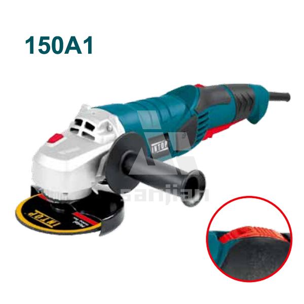 Variable speed Angle Grinder 1200W 150MM, hand press machine 150A1, electric power tools