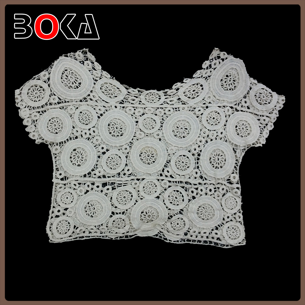 BOKA Fashion water soluble cotton tank design, crochet tank, crochet vest BK-CL548