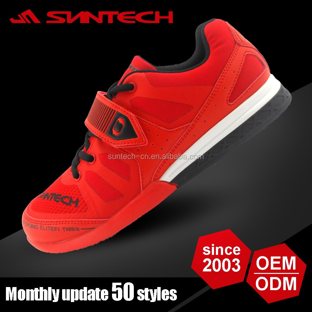 2016 newest hard flat crossfit weightlifting shoes