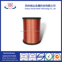 enameled copper coated aluminum magnet wire for voice winding