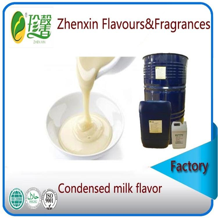 liquid and pure food grade condensed milk essence flavour, artificial condensed milk flavor and fragrance