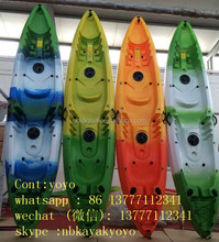 3 person fishing boat fishing kayak not inflatable 3 seat fishing kayak