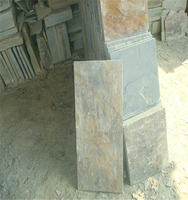 Natural slate 24x24 cut to size black slate flooring fromChina slate construction material