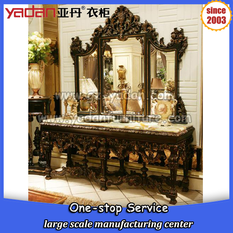 wooden carving dressing table designs, antique vanity dresser with mirror